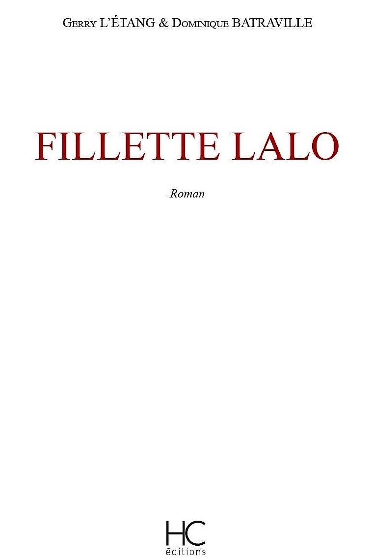 Fillette Lalo – Gerry L'Etang et Dominique Batraville – 2018
